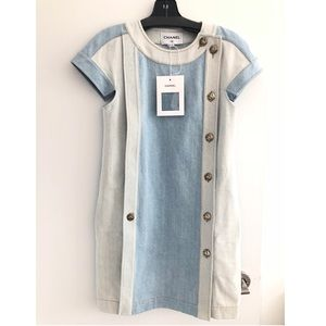 Chanel Denim Dress SS2018 New With Tag